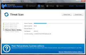 Análisis Malwarebytes