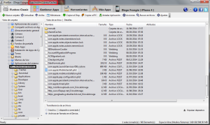 Ruta de archivos para borrar