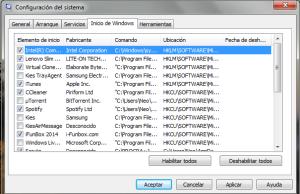 Inicio de Windows
